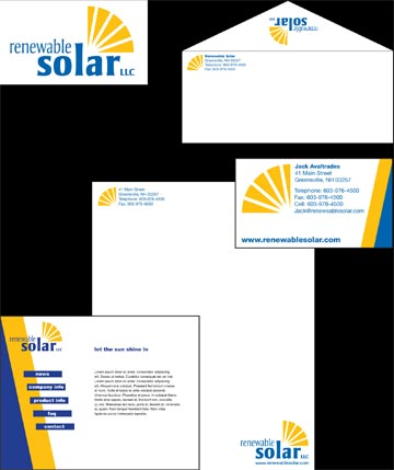 Identity system for Renewable Solar